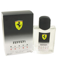 Black Shine Mens Cologne by Ferrari Edt Spray 4.2 oz