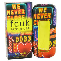 Fcuk Late Night Women Cologne by French Connection Edt Spray 3.4 oz
