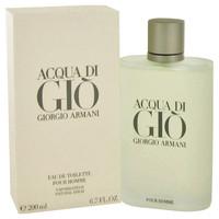 Acqua Di Gio Cologne Mens by Giorgio Armani Edt Spray 1.0 oz