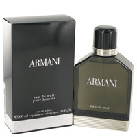 Armani Eau De Nuit Mens Cologne by Giorgio Armani Edt Spray 1.7 oz