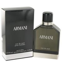 Armani Eau De Nuit for Men Cologne by Giorgio Armani Edt Spray 1.7 oz