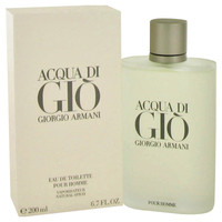 Acqua Di Gio Men Cologne by Giorgio Armani Edt Spray 3.4 oz