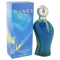 Wings Mens Cologne by Giorgio Beverly Hills Edt Spray 3.4 oz