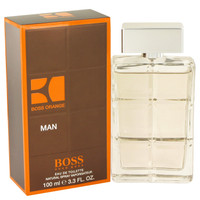 Boss Orange Cologne by Hugo Boss for Men Edt Spray 3.4 oz