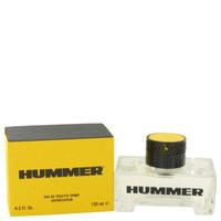 Mens Hummer Cologne by Hummer Edt Spray 4.2 oz