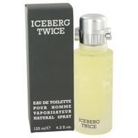 Iceberg Twice Mens Cologne by Iceberg Edt Spray 4.2 oz