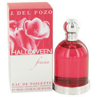 Halloween Freesia Womens Perfume by Jesus Del Pozo Edt Spray 3.4 oz