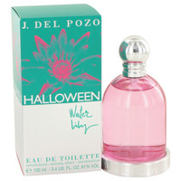 Halloween Water Lilly Perfume for Women by Jesus Del Pozo Edt Spray 3.4 oz