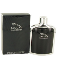 Mens Jaguar Black Cologne by Jaguar Edt Spray 3.4 oz