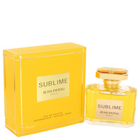 Sublime for Womens Perfume by Jean Patou Edt Spray 2.5 oz