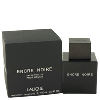 Lalique Encre Noire Mens Cologne for Men by Lalique Edt Spray 3.4 oz