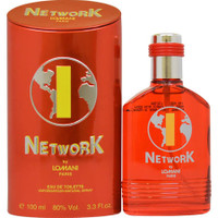 NETWORK 1(RED) By Lomani For Men 3.3oz EDT SP
