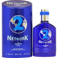 NETWORK 2(BLUE) By Lomani For Men 3.3oz EDT SP