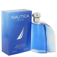 Nautica Blue Eau De Toilette Spray 3.4oz for Men by Nautica