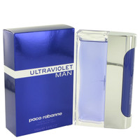 Ultraviolet Cologne for Men by Paco Rabanne - 3.4 oz Eau De Toilette Spray