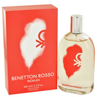 BENETTON ROSSO Womens Cologne by Benetton Edt Spray 3.4 oz