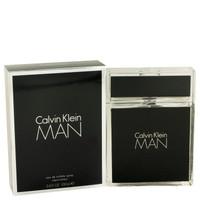 Calvin Klein Man Cologne for Men By Calvin Klein Eau de Toilette Edt 3.4 oz