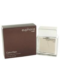 Euphoria Cologne for Men Calvin Klein Eau de Toilette Edt Spray 1.7 oz