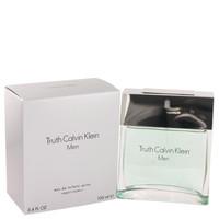 Truth Men Cologne By Calvin Klein Eau de Toilette Edt Spray 3.4 oz