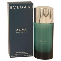 Aqua Perfume for Men by Bvlgari Edt Spray 1 oz