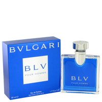 Blv Cologne for Men by Bvlgari Edt Spray 1.7 oz