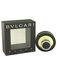 Black Mens Cologne by Bvlgari Edt Spray 2.5 oz