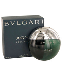 Aqua Cologne Mens by Bvlgari Edt Spray 3.4 oz