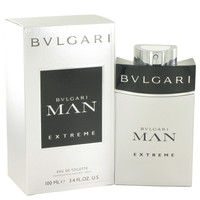 Man Extreme Cologne for Men by Bvlgari Edt Spray 3.4 oz