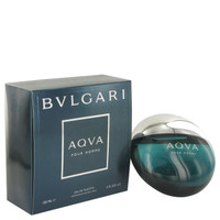 Aqua Mens Cologne by Bvlgari Edt Spray 5 oz