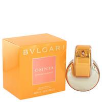 Omnia Indian Garnet Perfume Womens by Bvlgari Edt Spray 2.2 oz