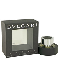 Black Mens Cologne by Bvlgari Edt Spray 1.3 oz