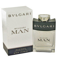 Man Cologne by Bvlgari Edt Spray 2 oz
