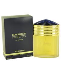 Boucheron Pour Homme Cologne Edp Eau de Parfum Spray 3.4 oz