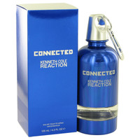 Kenneth Cole Reaction Connected Mens cologne 4.2 oz Edt Spray
