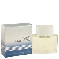 Nautica Pure Cologne Mens Edt Spray 1.7 oz