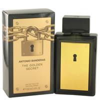 The Golden Secret Cologne Mens by Antonio Banderas Edt Spray 3.4 oz