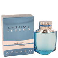 Azzaro Chrome Legend Cologne by Azzaro for Men Edt Spray 1.4 oz