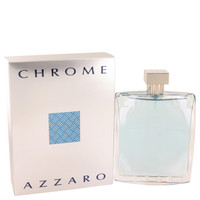 Azzaro Chrome Cologne by Azzaro for Men Edt Spray 6.8 oz