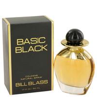 Basic Black Cologne Spray for Women by Bill Blass Edc Spray 1.7 oz