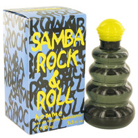 Samba Rock & Roll Cologne for Men by Perfumer's Workshop Edt Spray 3.4 oz