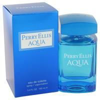 Perry Ellis Aqua Cologne Mens by Perry Ellis Edt Spray 3.4 oz
