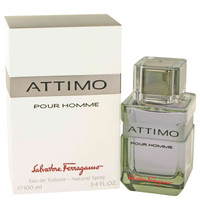 Attimo Cologne by Savatore Ferragamo Edt Spray 3.4 oz