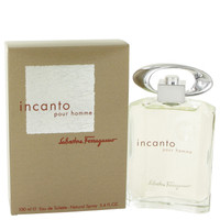 Incanto Cologne for Men  by Salvatore Ferragamo Edt Spray 3.4 oz