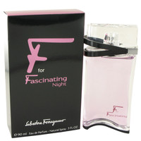 F for Fascinating Night Womens by Salvatore Ferragamo Edp 3 oz