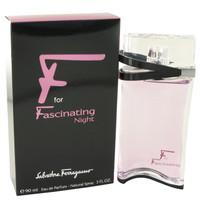 Salvatore Ferragamo F for Fascinating Night For Womens Edp 3 oz