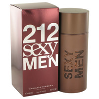 Carolina Herrera Men 212 Sexy Edt 3.4 oz