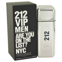 212 VIP by Carolina Herrera Men 3.4 oz Edt