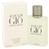 Giorgio Armani Acqua de Gio For Men Cologne 3.4 oz EDT SP