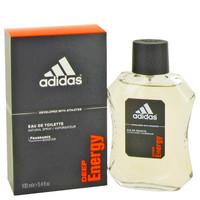 Adidas Deep Energy Mens Cologne by Adidas Edt 3.4 oz