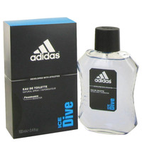 Adidas Ice Dive Cologne for Men by Adidas Edt 3.4 oz